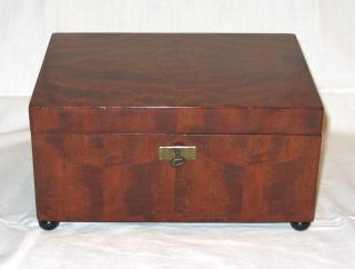 Art Deco Mahogany box.