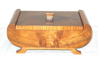 Art Deco Walnut Box.