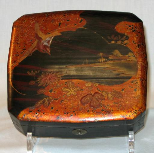 Japanese Lacquer Box.
