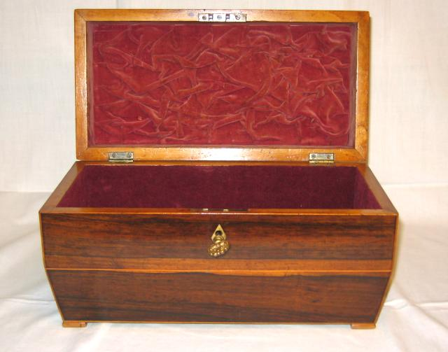 Regency Tea Caddy.