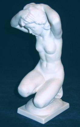 After The Bath Figurine by Karl Tutter.
