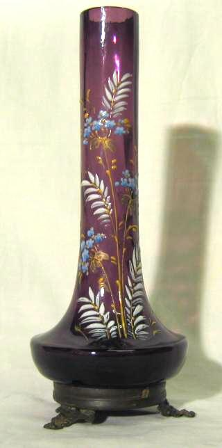 Loetz vase in an ormoulu mounting.