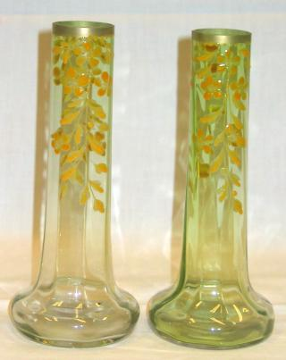 French Art Nouveau Vases.
