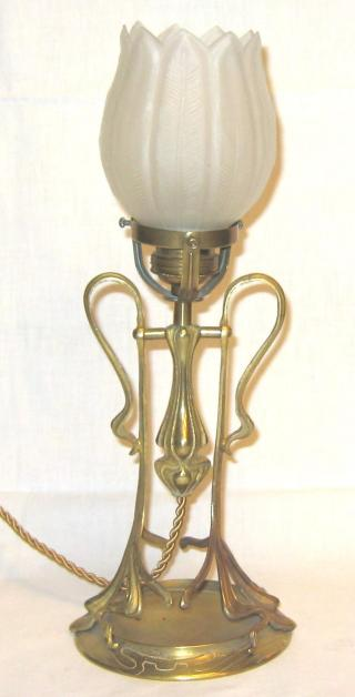 Austrian Jugendstil Table Lamp.
