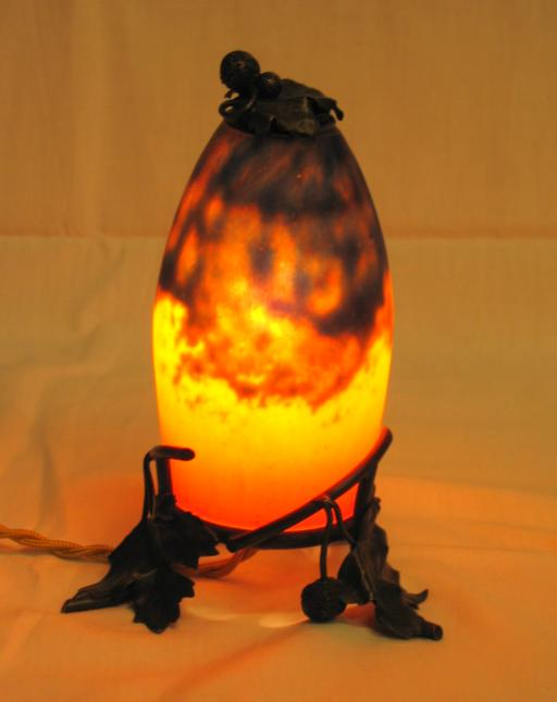 Daum Nancy perfume lamp.