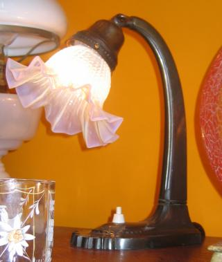 Austrian bedside or table lamps.