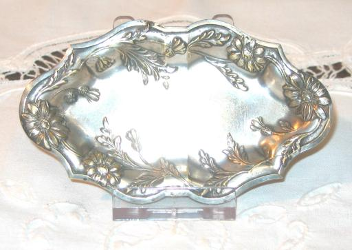 Small Silver Plated Tray.