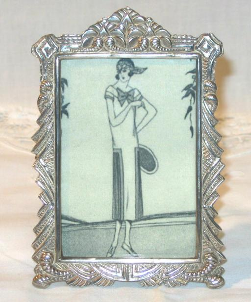 Art Deco Silver Pictures Frame.