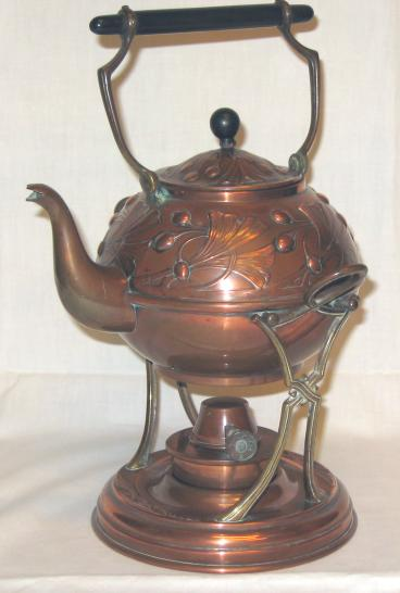 Carl Deffner hot water kettle