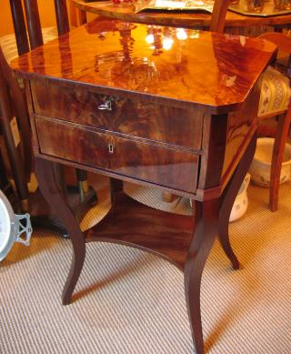 Mahogany sewing Table.