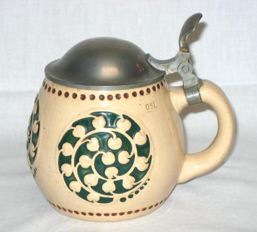 Richard Riemerschmid  Beer Tankard or Stein.