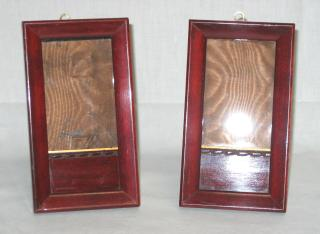 Pair of Mahogany Pictures Frames.