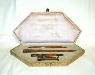 Art Deco Writing Set.